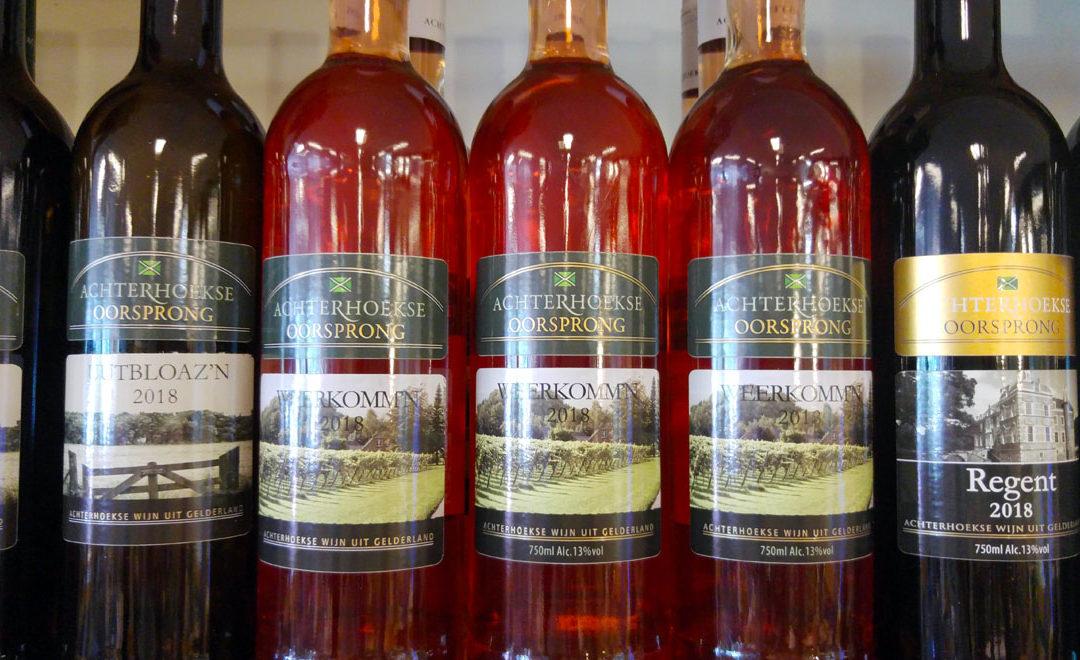 Achterhoekse wijnen uit Vorden