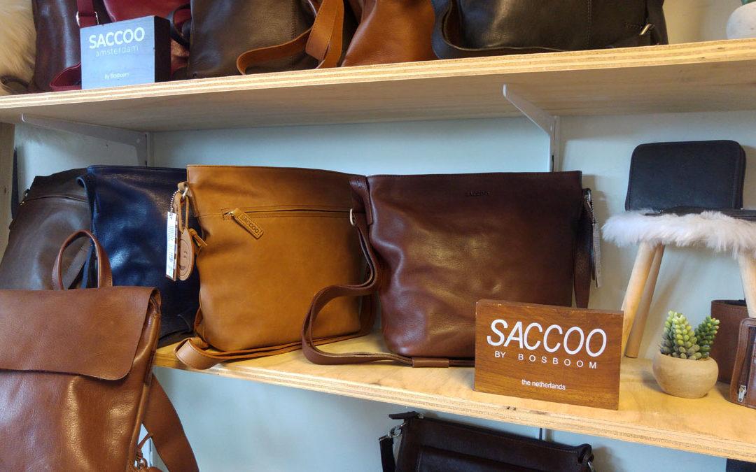 Lederen tassen van Saccoo in Vorden