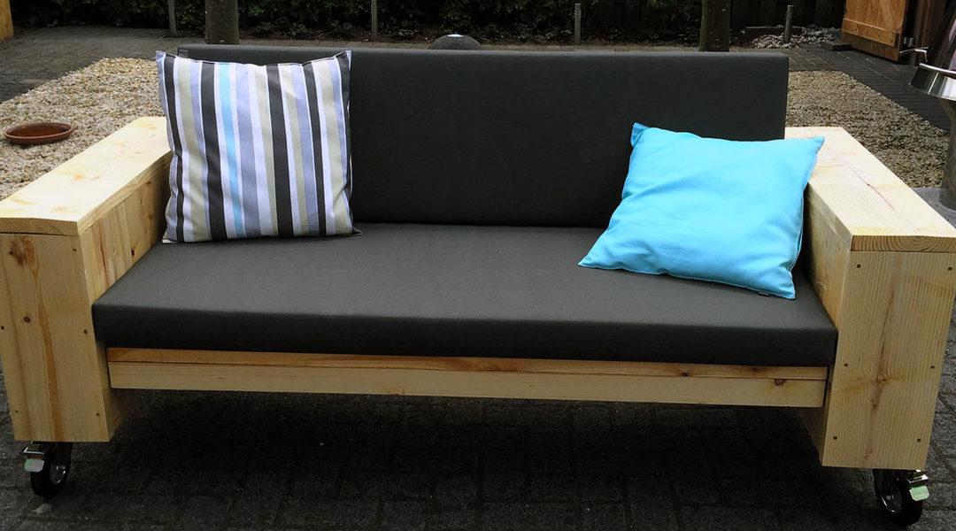 steigerhouten meubels in Vorden bij Van Sinckel