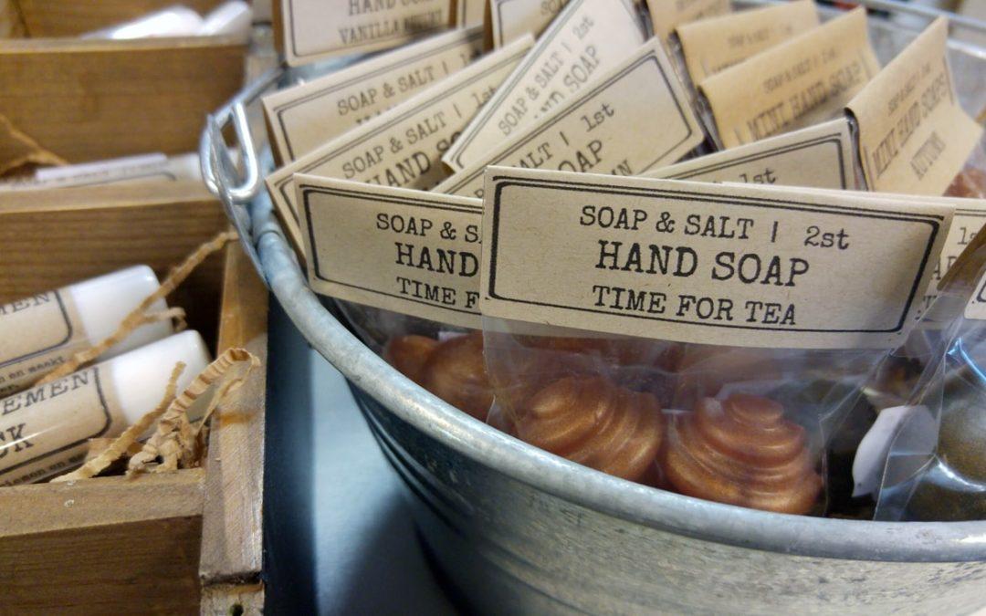 Natuurlijke huidverzorging zeep shampoobars bodybutters scrub