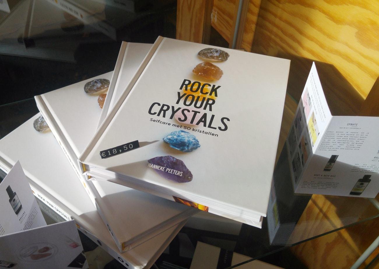 Rock Your Crystals - boek over kristallen, mineralen en stenen