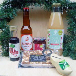 Achterhoeks kerstpakket vol lokale producten