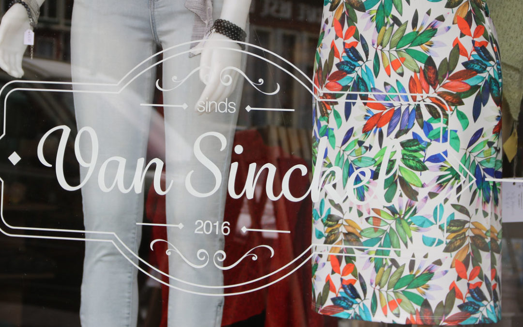 Van Sinckel Vorden etalage van shop-in-shop