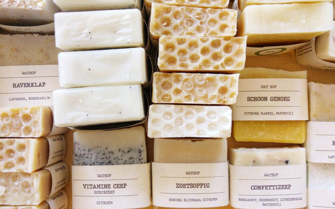 Handgemaakte zeep natuurzepen zonder palmolie