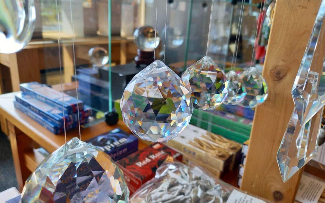 Regenboogkristallen regenboog kristallen raamhangers spirituele cadeaus
