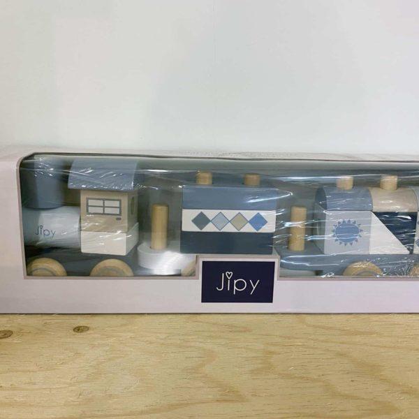 33 houten blokkentrein Jipy Vorden